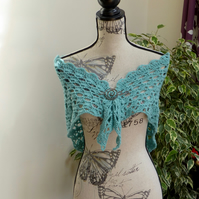 All at Sea! Lacy Shawl