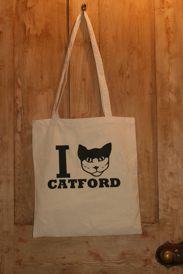 I Cat Catford Tote Bag