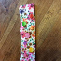 Children's floral beaded headband (aged 4-6)