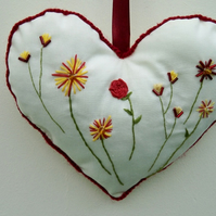 Love Heart Hanging Ornament