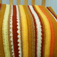 Striped Blanket and Cushion Cover