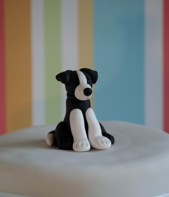 How To Make A Collie Dog Cake