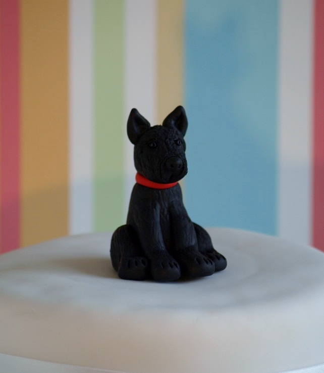 scottish terrier wedding cake toppers scottish terrier cake topper folksy 19692