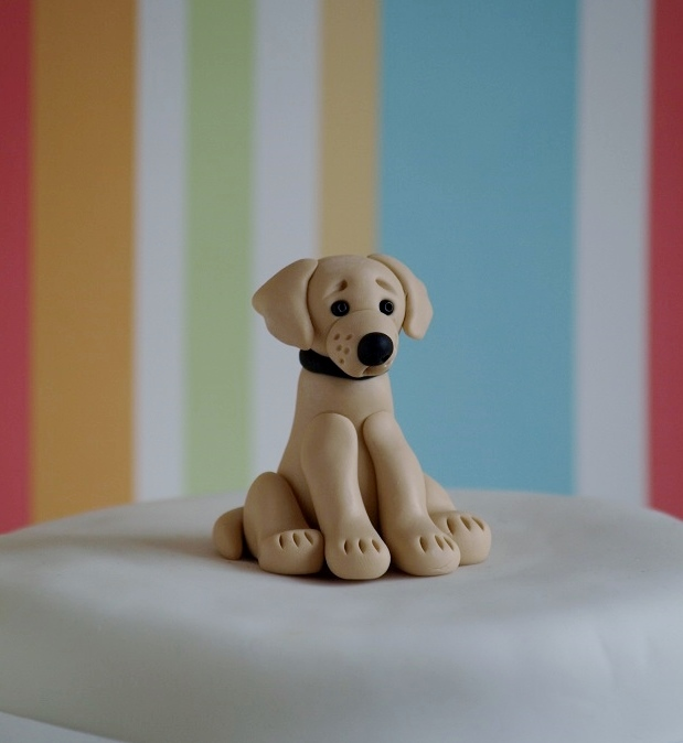Labrador Cake Topper Tutorial
