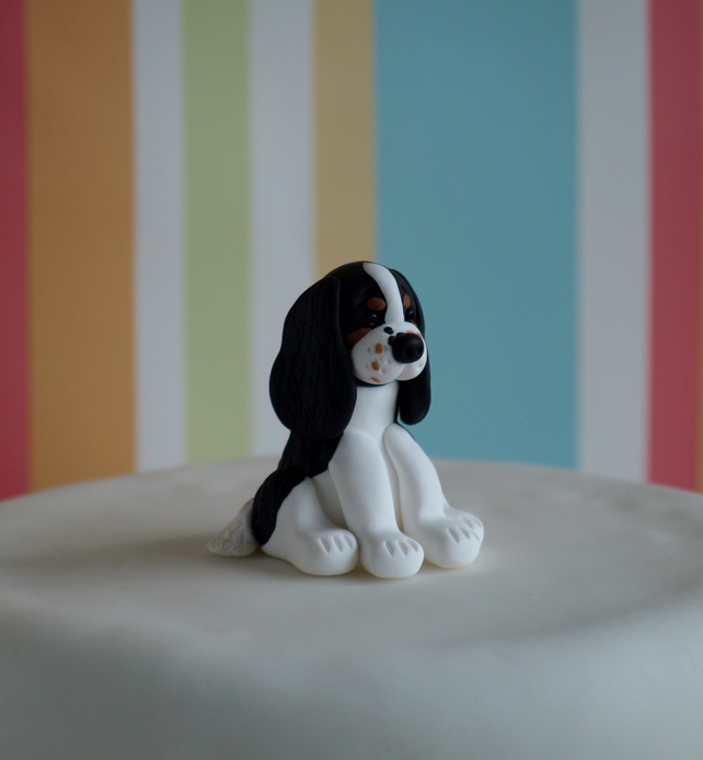 Cocker Spaniel Wedding Cake Topper