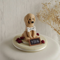 Golden Retriever Wedding Cake Topper - Dog Cake Topper -  ANY BREED