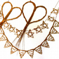 Make these Willow Hearts, Stars and Bunting, a craft kit for complete beginners.