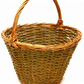 Make this willow Shopping Basket: a weaving kit for complete beginners..