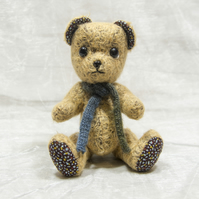 "OOAK An Earnest Bear by Tabbyclouds ""Oliver"" ( Mohair Artist Collector Teddy )"