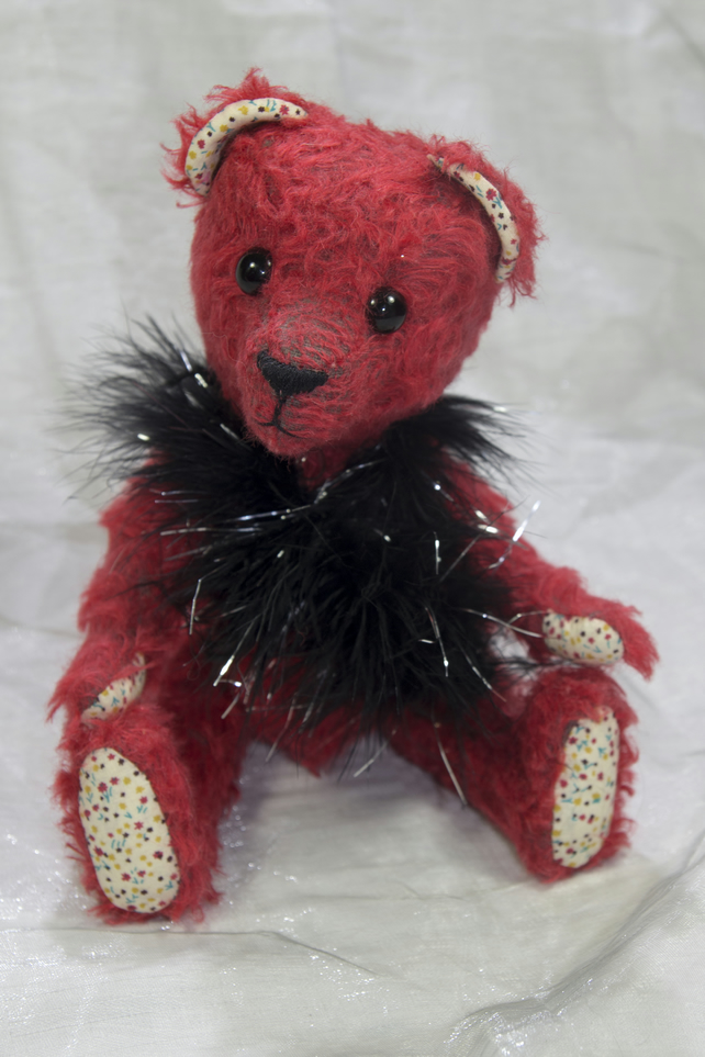 "OOAK An Earnest Bear by Tabbyclouds ""Brienne"" ( Mohair Artist Collector Teddy )"