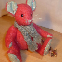 "OOAK A Meece Amis Artist Mouse by Tabbyclouds ""Mungo"" (Collector Bear)"