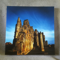 "Whitby Abbey 8""X8"" Canvas"