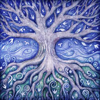 Greetings Card - The Dreaming Tree
