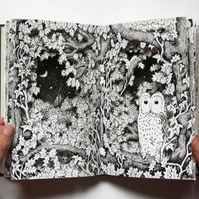 Night Owl - Altered Book