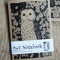 Owl Kraft Notebook