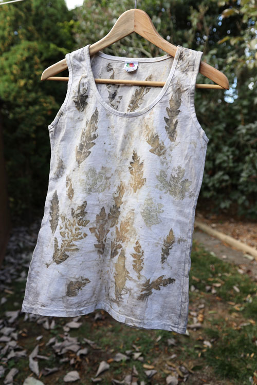 Leaf Dyed Women's Top