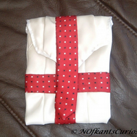 St George!  Tied to My Kindle!  Gadget Case made from Gent's Neck Ties.