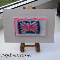 Patriotic Greeting Card, Left Blank for Your Own Message!