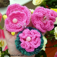 Mum's Favourites!  Choice of three Pink structual floral corsages.