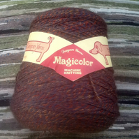 Denys Brunton Designer Yarn, Multi-tonal Magicolour, 340g on a cone