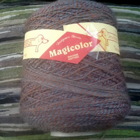 340g Cone of Denys Brunton Designer Magicolour Yarn.