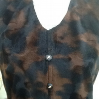 Velveteen Ladies Waistcoat!  UK size 8 to 10 approx.
