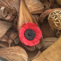 Large Poppy Button!