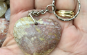 Gemstone keyrings and Handbag Charms