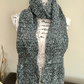 Wave Scarf!  Stylish Crocheted Scarf in double and triple crocheted styles!