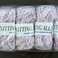 Sale!  500g Bundle Lot: 5 x 100g Fashion Knitting Allsorts Mixed Fibre Yarn.