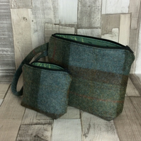 Pure Wool Clutch Bag and Purse