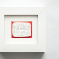 Porcelain Custard cream frame