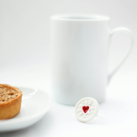 Jammie Dodgers Porcelain Ring