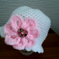 Baby Hat Bonnet for a baby girl