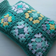 Hot water bottle cover Sage Green