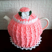 Tea Cosy 6-8 cup in the colour Pink