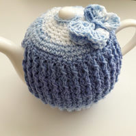 Tea cosy 6-8 cup in the colour Blue