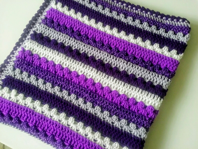 Purple Baby Blanket Babies