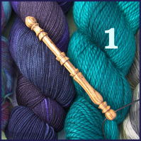 Yarn lovers' sett gauge or wpi gauge