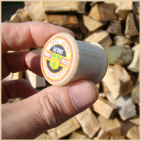 Cotton bobbin wooden USB memory stick 4GB