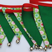 Christmas Mini Bunting...Circles