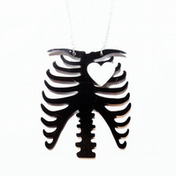 Sale Ribcage necklace