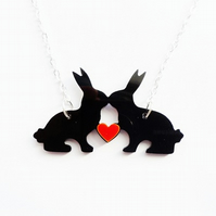 Love Bunnies necklace