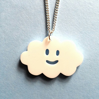 Sale Happy cloud pendant