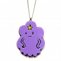 Lumpy Space Princess necklace