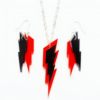 Lightning bolt set