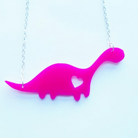Dinosaur Love Necklace