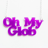 Adventure Time Oh My Glob necklace