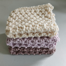 Organic Cotton Facecloths