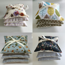 Fabric Lavender Sachet Sets